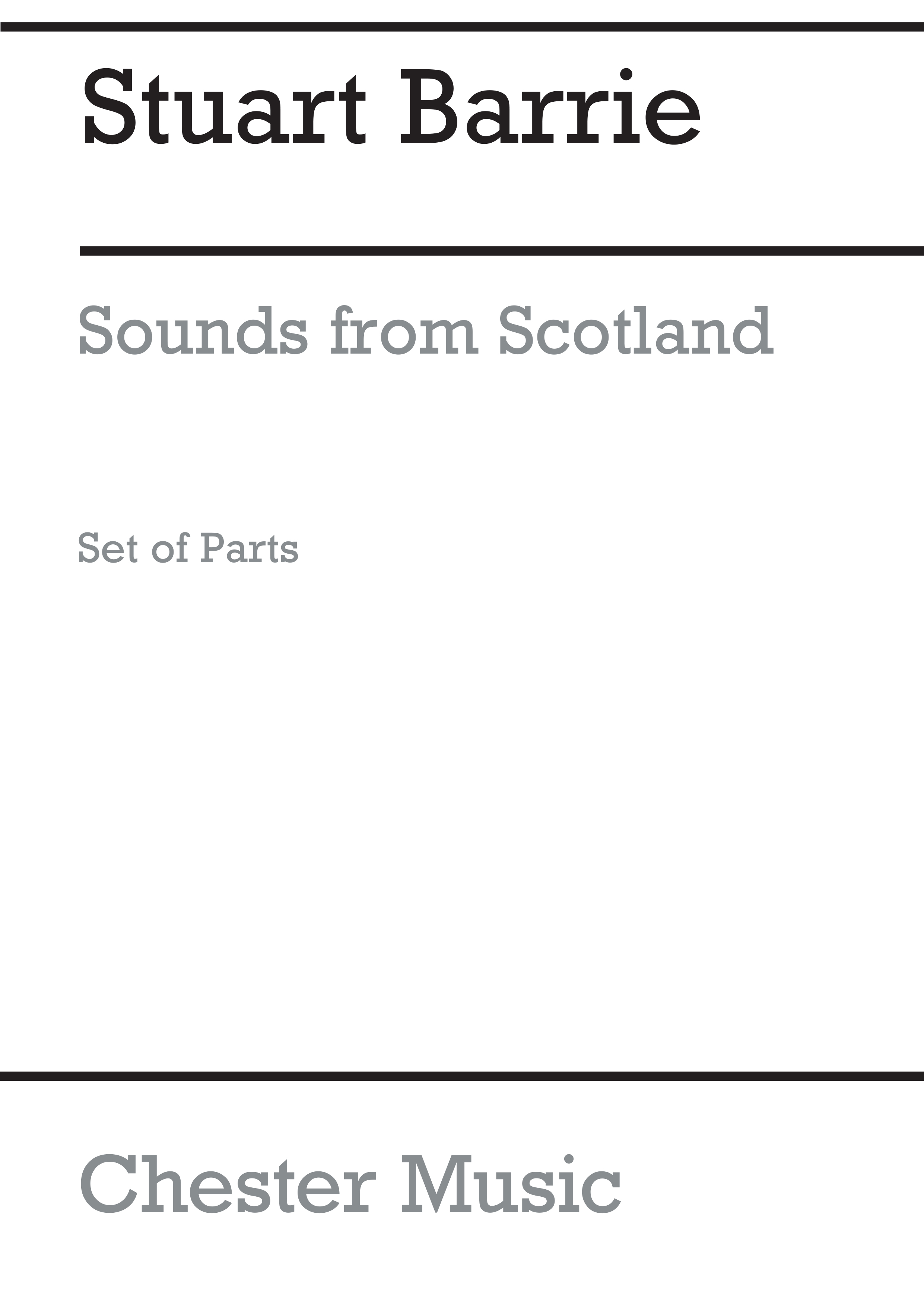 Stuart Barrie: Playstrings No.10 Sounds From Scotland (Parts): Orchestra: Parts