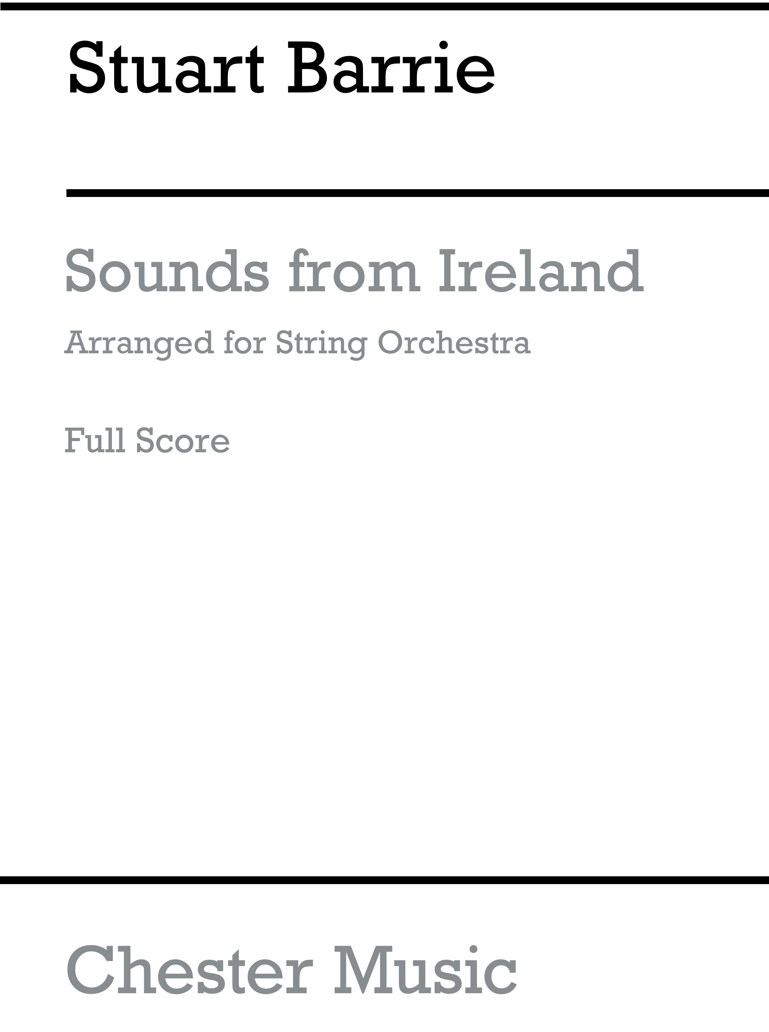 Stuart Barrie: Playstrings Easy No. 12: Sounds From Ireland: Orchestra: Score