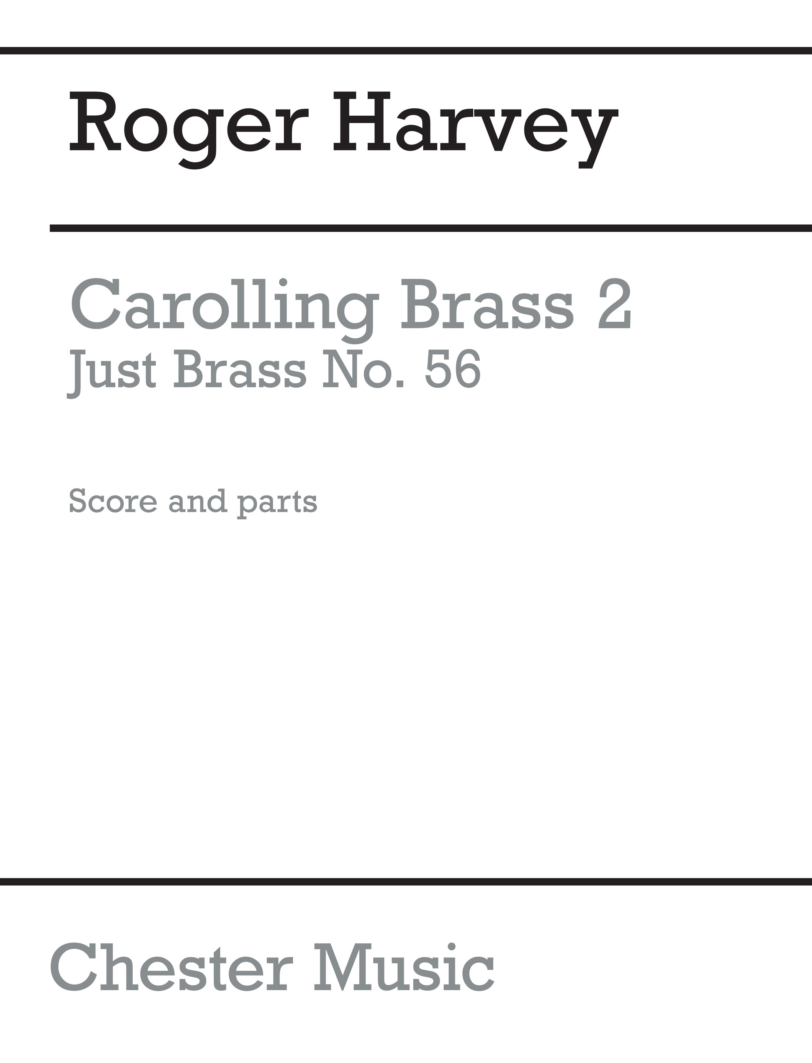 Roger Harvey: Carolling Brass 2: Brass Ensemble: Instrumental Work