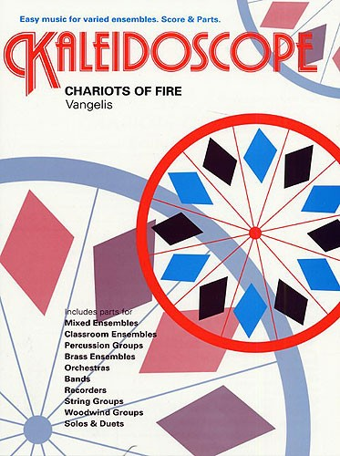 Valverde: Kaleidoscope: Chariots Of Fire: Flexible Band: Score and Parts