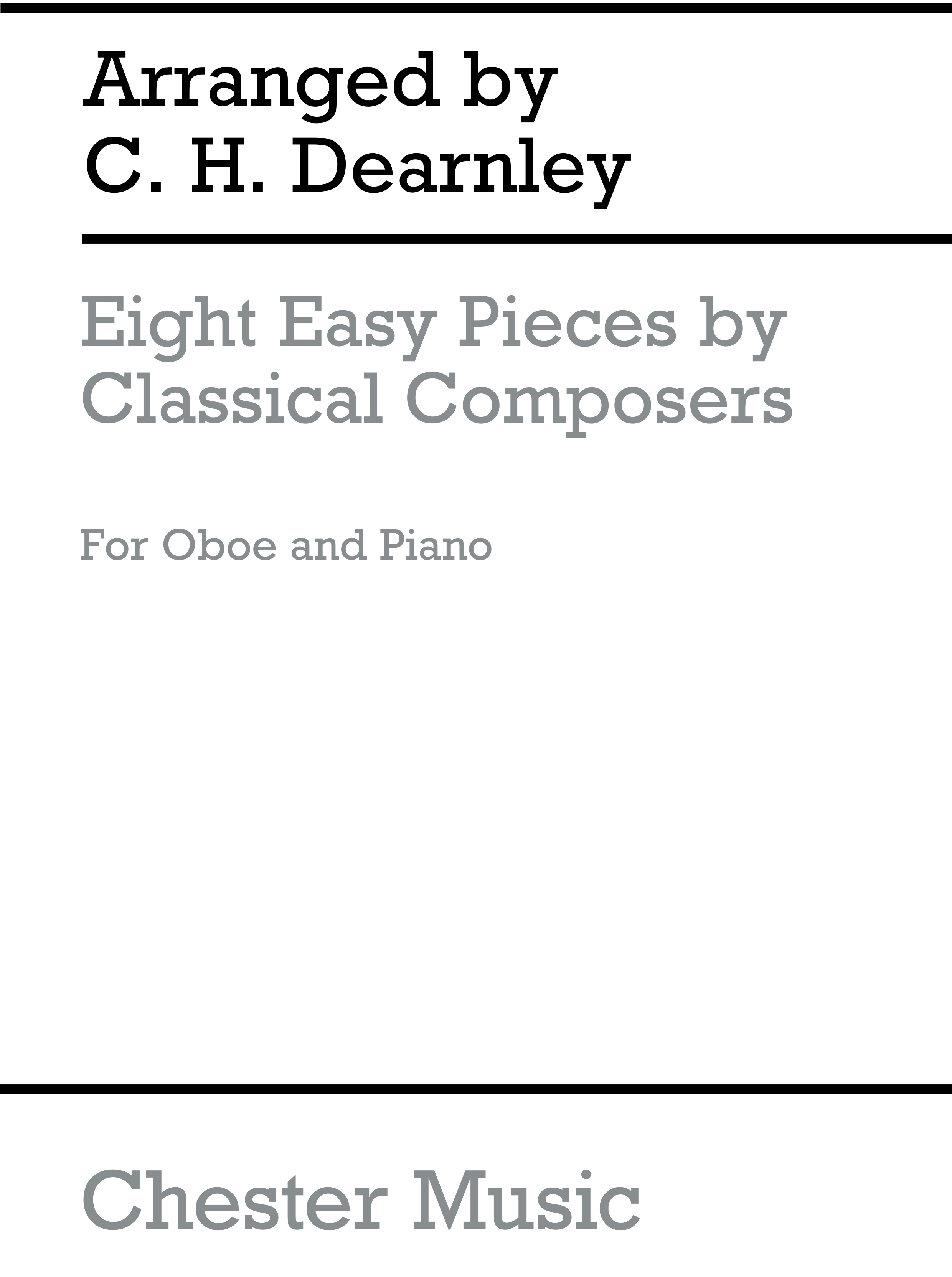 Eight Easy Pieces By Classical Composers: Oboe: Instrumental Album