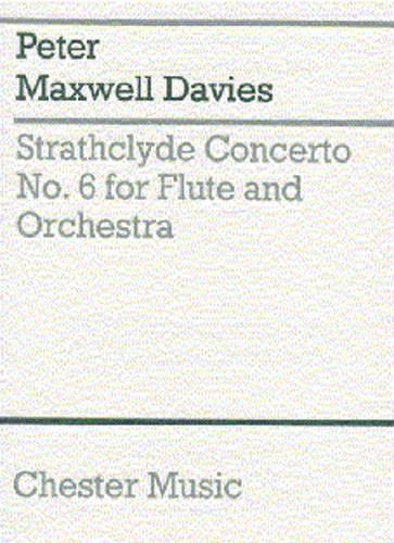 Peter Maxwell Davies: Strathclyde Concerto No. 6 (Miniature Score): Miniature