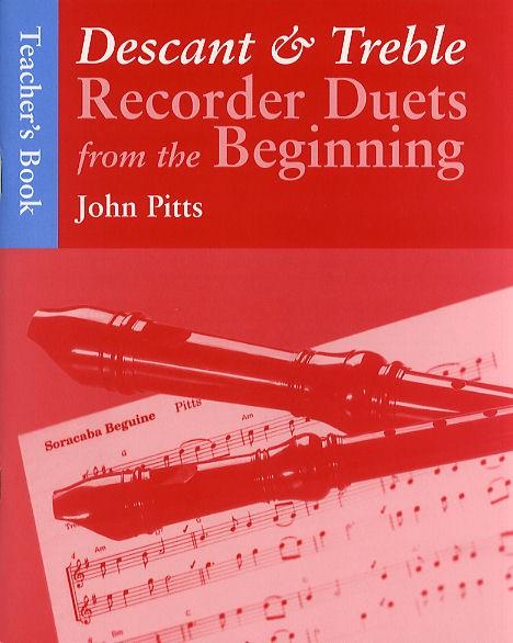 John Pitts: Recorder Duets From The Beginning Teacher's Book: Recorder Ensemble: