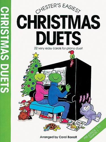 C. Barratt: Chester's Easiest Christmas Duets: Piano Duet: Instrumental Album