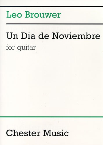 Leo Brouwer: Un Dia De Noviembre: Guitar: Instrumental Work