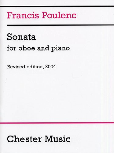 Francis Poulenc: Sonata for Oboe and Piano: Oboe: Instrumental Work