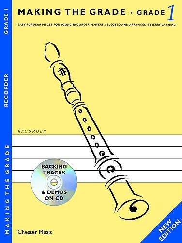 Jerry Lanning: Making The Grade: Grade One: Descant Recorder: Instrumental Album