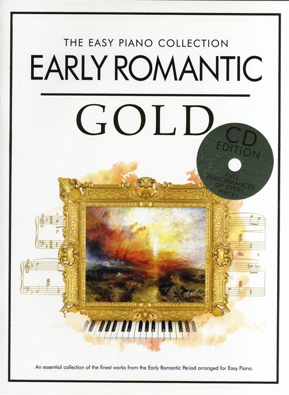The Easy Piano Collection: Early Romantic Gold: Easy Piano: Instrumental Album
