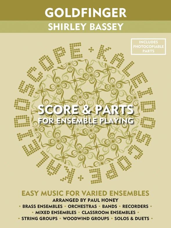 Shirley Bassey: Kaleidoscope: Goldfinger: Flexible Band: Score and Parts