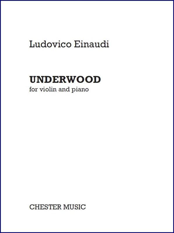 Ludovico Einaudi: Underwood: Violin: Score and Parts