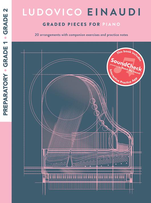 Ludovico Einaudi: Graded Pieces For Piano - Preparatory To Grade 2: Piano: