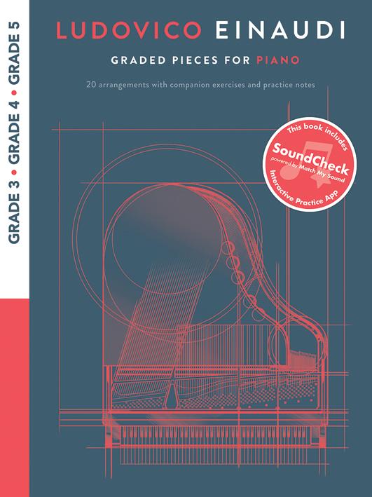Ludovico Einaudi: Graded Pieces For Piano - Grades 3-5: Piano: Instrumental