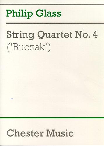 Philip Glass: String Quartet No.4 'Buczak': String Quartet: Score