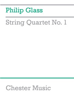 Philip Glass: String Quartet No. 1: String Quartet: Score