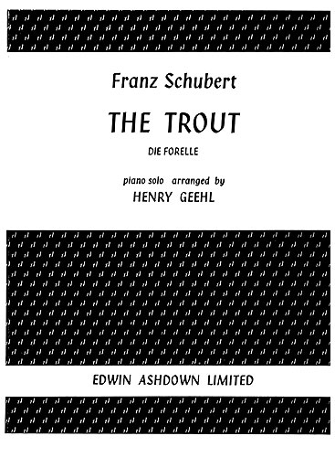 Franz Schubert: The Trout: Piano: Instrumental Work