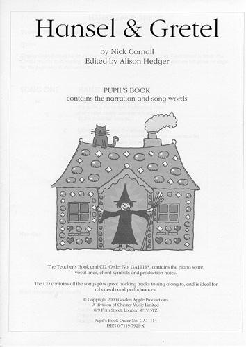 Nick Cornall: Hansel and Gretel: Piano  Vocal  Guitar: Script