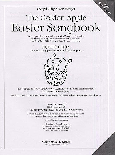 Alison Hedger: The Golden Apple Easter Songbook: Voice: Classroom Musical