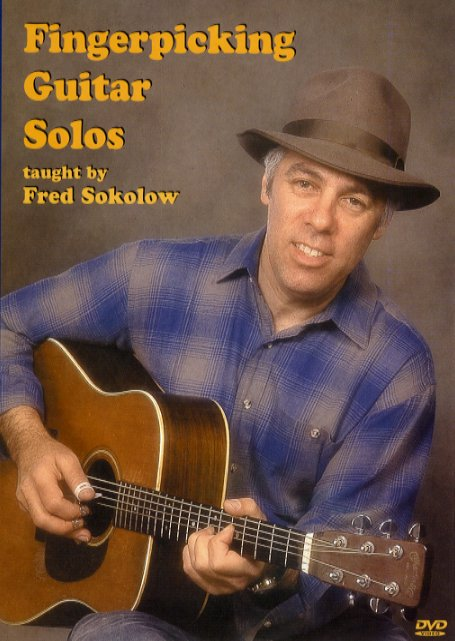 Fred Sokolow: Fingerpicking Guitar Solos: Guitar: Instrumental Tutor