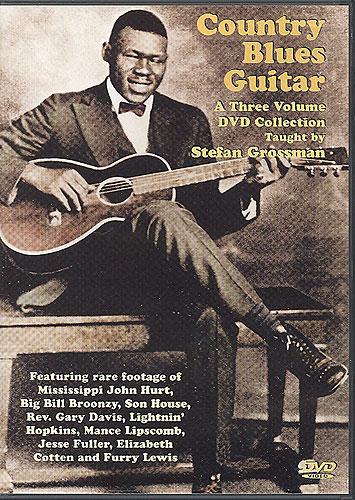 Stefan Grossman: Country Blues Guitar: Guitar: Instrumental Tutor