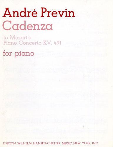 André Previn: Cadenza To Mozart's Piano Concerto K.491: Piano