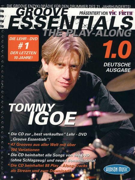Tommy Igoe: Groove Essentials - The Play-Along: Drum Kit: Instrumental Tutor
