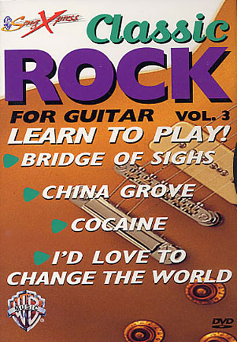 Classic Rock For Guitar (Volume Three): Guitar: Instrumental Tutor