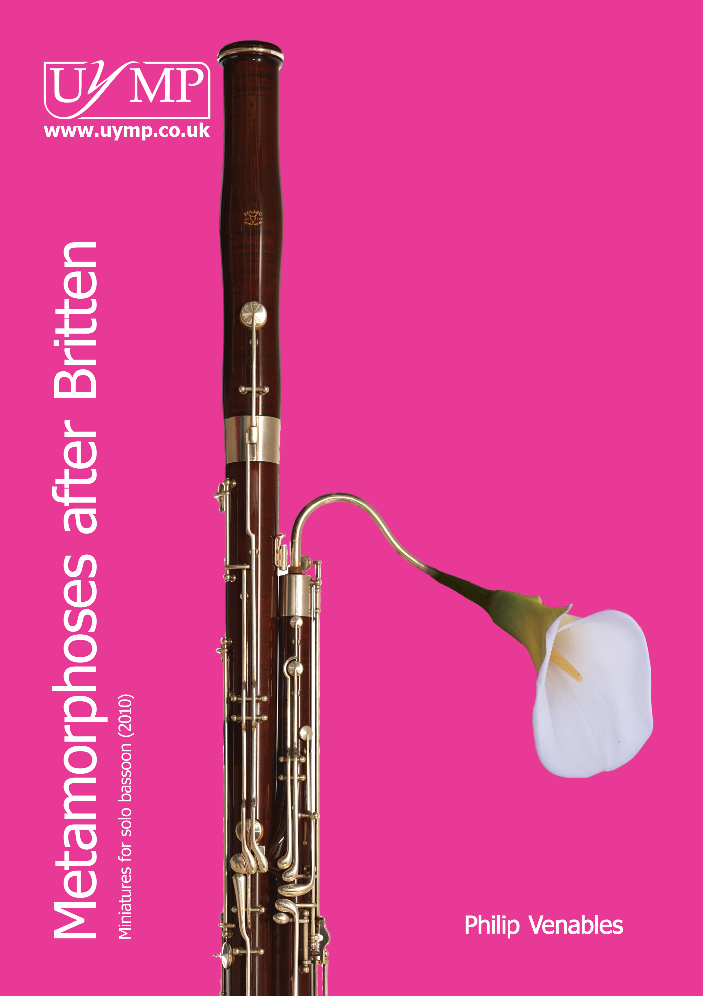 Philip Venables: Four Metamorphoses After Britten: Bassoon: Instrumental Work