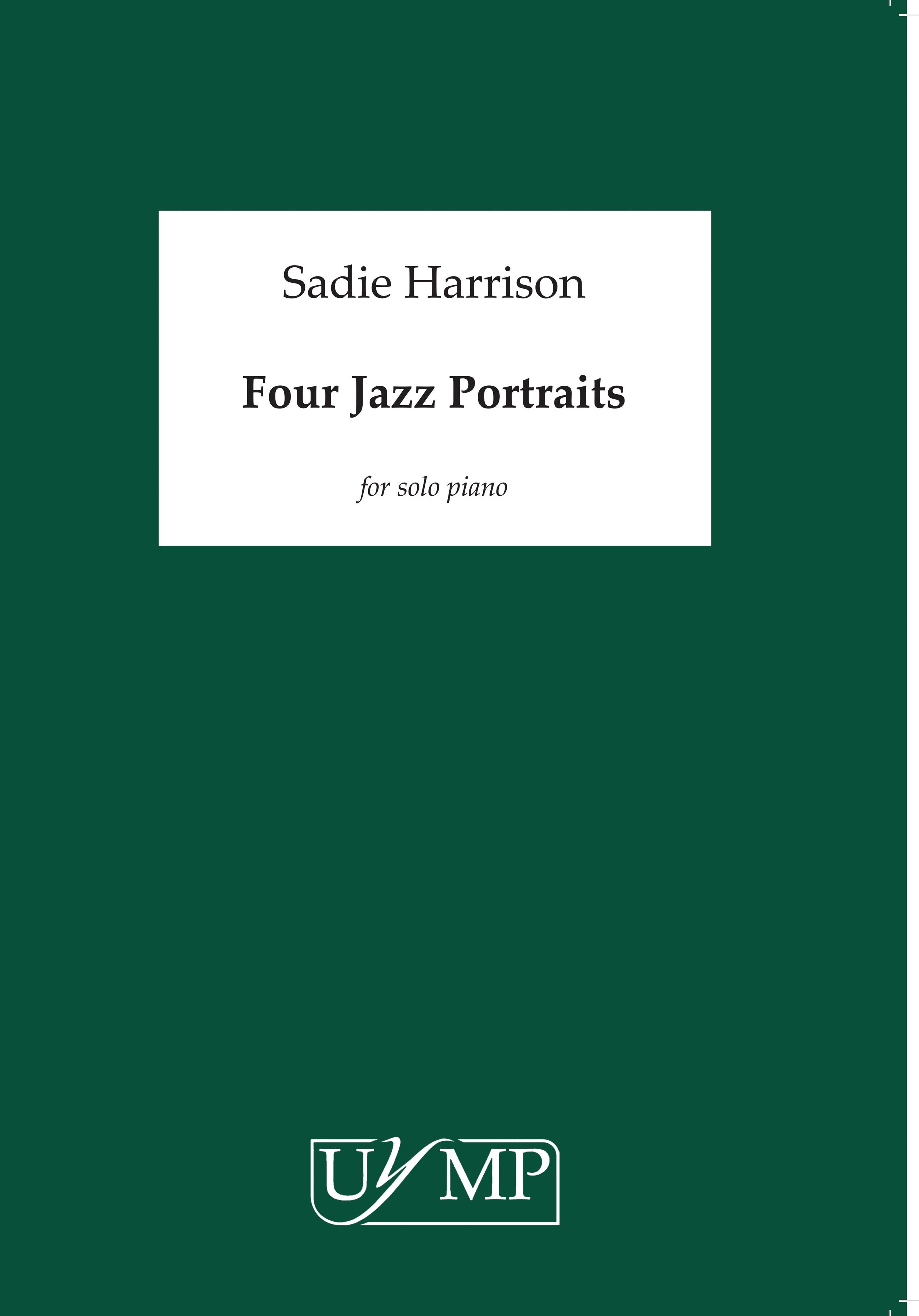 Sadie Harrison: Four Jazz Portraits: Piano: Instrumental Work