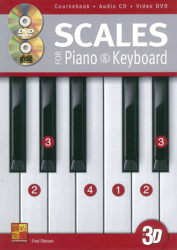 Scales for Piano & Keyboard in 3D (1 Book + 1 CD + 1 DVD)