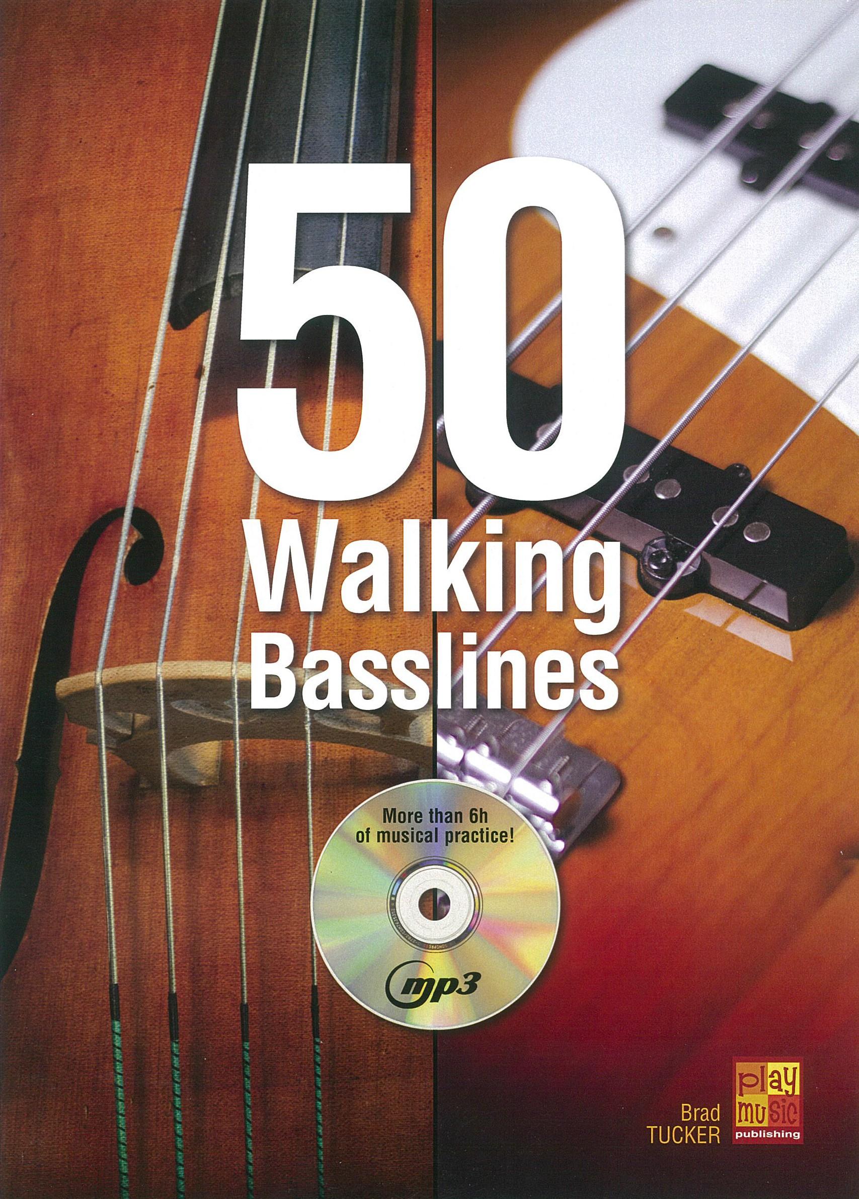 50 Walking Basslines (1 Book + 1 CD)