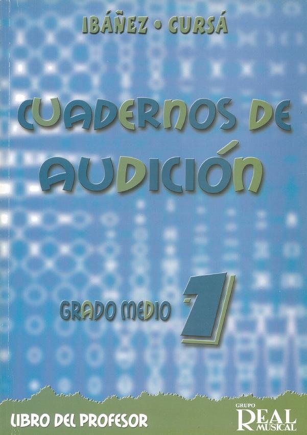 Cuadernos De Audicion - Grado Medio Curso 1: Theory