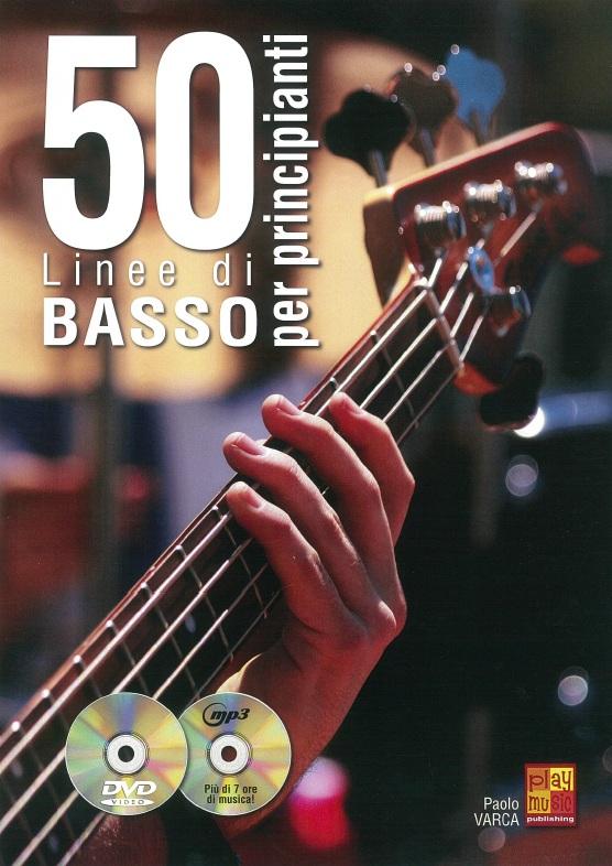 50 Linee Di Basso Per Principianti: Bass Guitar: Instrumental Tutor