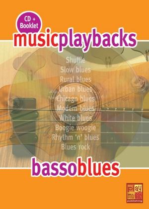 Music Playbacks CD : Basso Blues: Bass Guitar: Backing Tracks