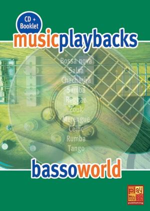 Music Playbacks Cd Basso World Bass Guitar Booklet/Cd Italian