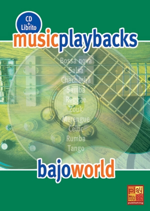 Music Playbacks Cd Bajo World Bass Guitar Booklet/Cd Spanish