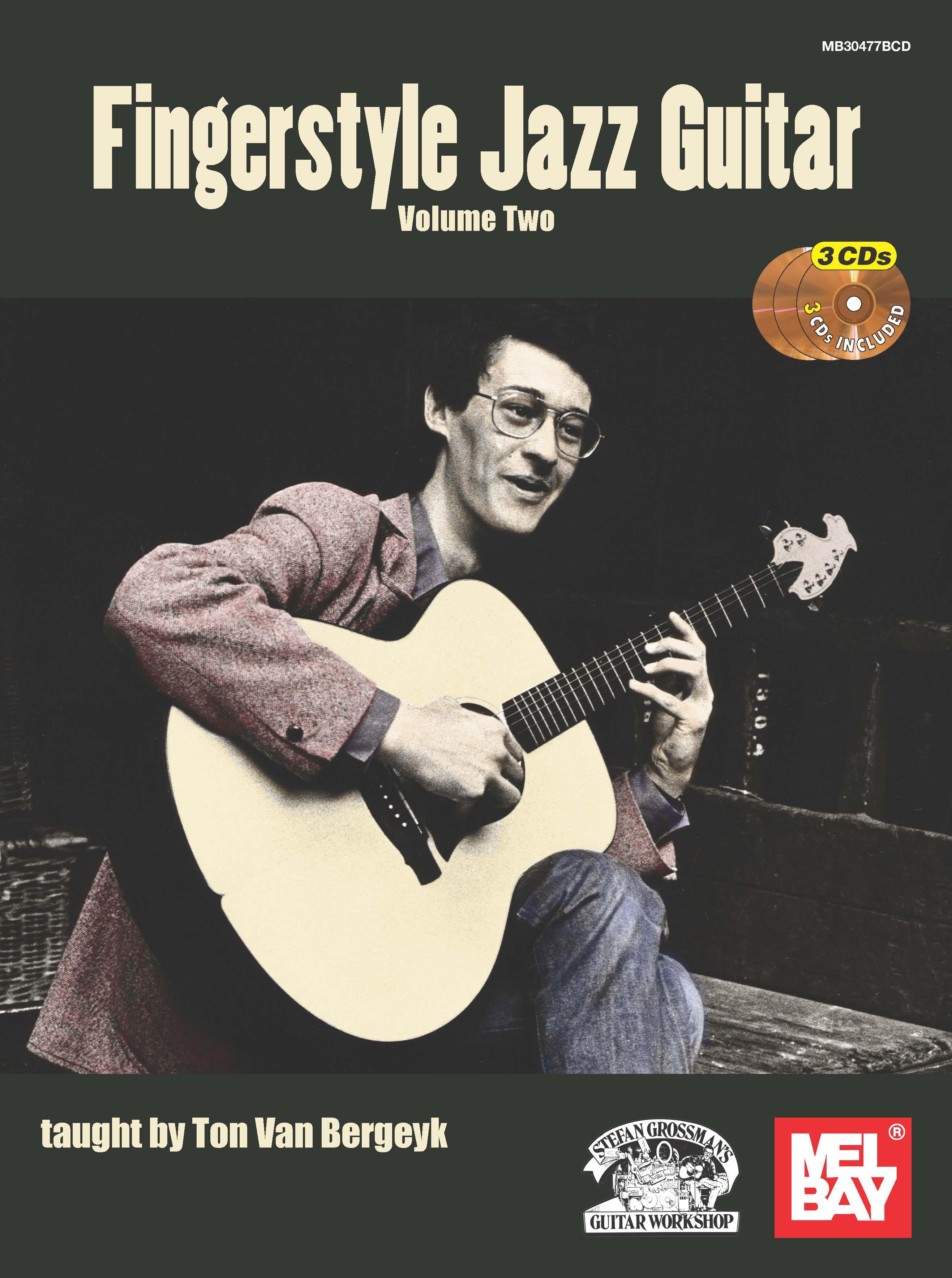 Ton van Bergeyk: Fingerstyle Jazz Guitar - Volume 2: Guitar: Instrumental Tutor