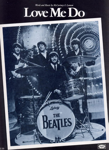 The Beatles: Love Me Do: Piano  Vocal  Guitar: Single Sheet