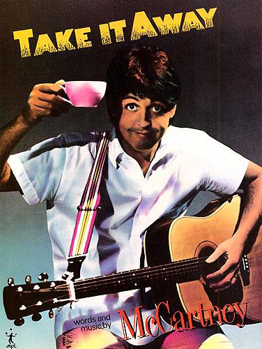 Paul McCartney: Take It Away: Piano  Vocal  Guitar: Single Sheet