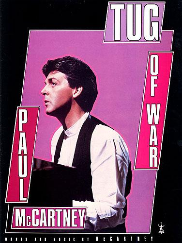 Paul McCartney: Tug Of War: Piano  Vocal  Guitar: Single Sheet