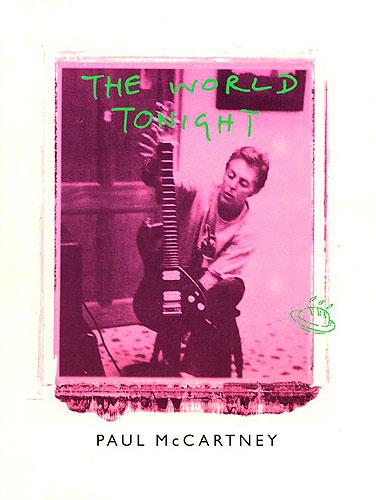 Paul McCartney: World Tonight (Sheet): Piano  Vocal  Guitar: Single Sheet
