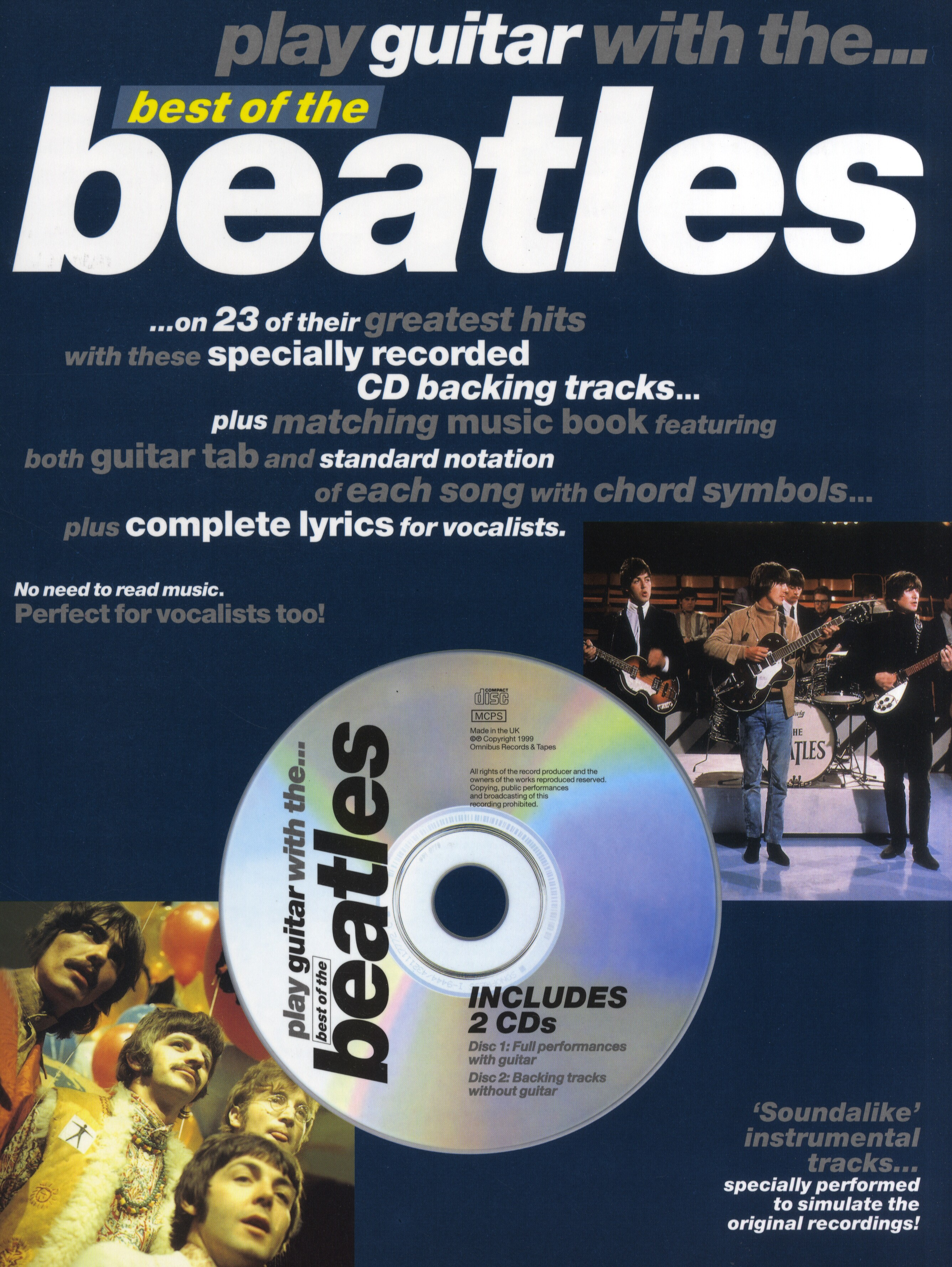 The Beatles: Play Guitar With... Best Of The Beatles: Guitar TAB: Instrumental