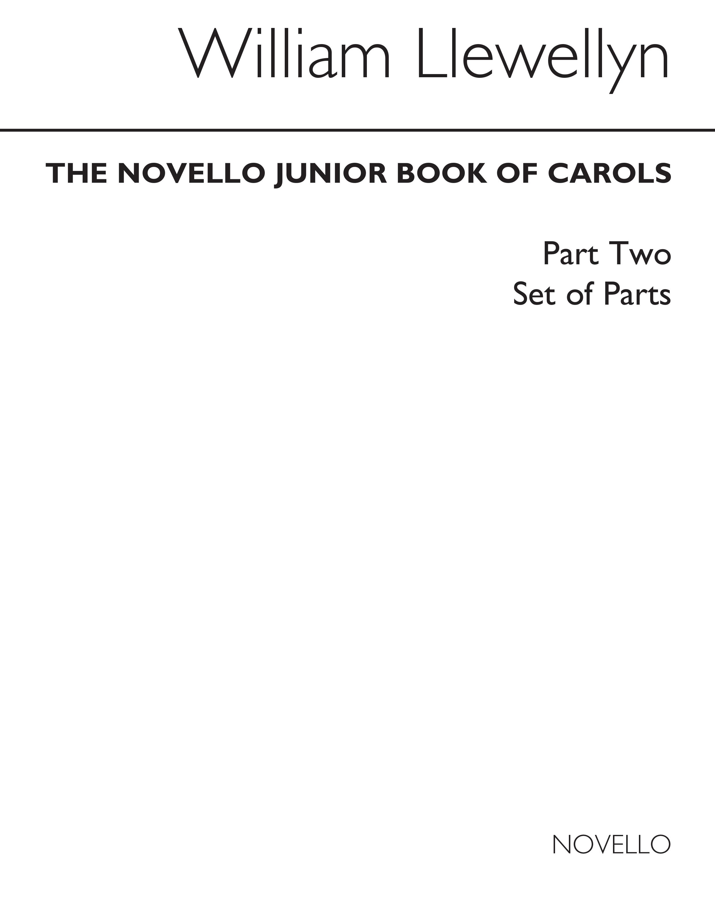 The Novello Junior Book Of Carols Part 2: Upper Voices: Vocal Score
