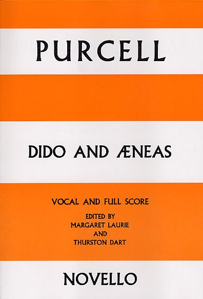 Henry Purcell: Dido And Aeneas: Vocal: Vocal Score