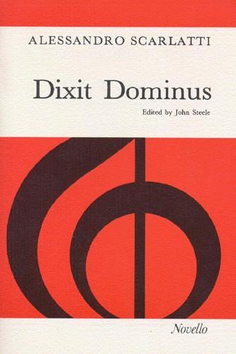 Alessandro Scarlatti: Dixit Dominus: SATB: Vocal Score
