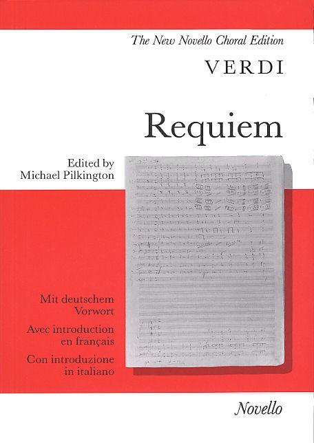 Giuseppe Verdi: Requiem: SATB: Vocal Score