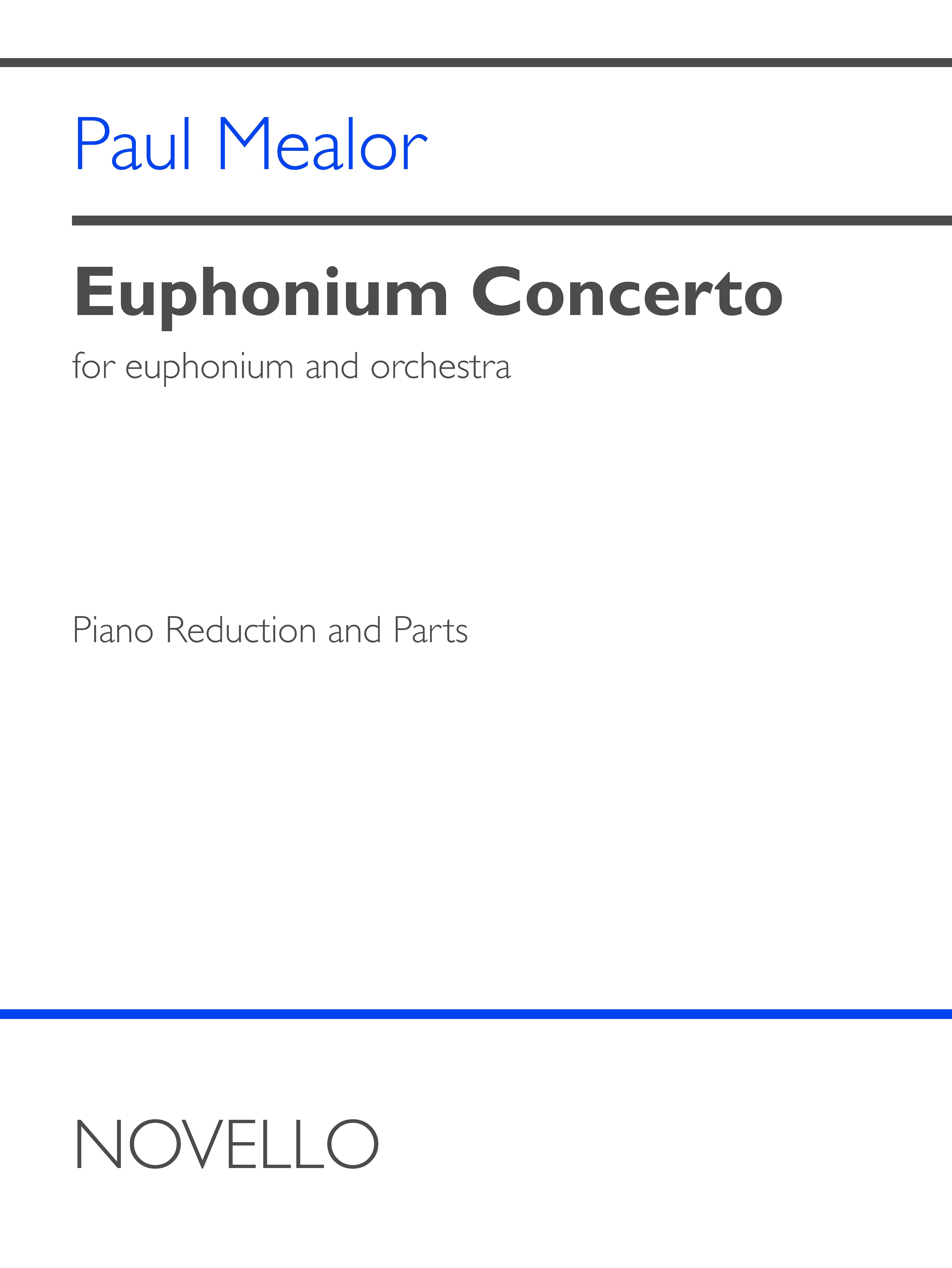 Paul Mealor: Euphonium Concerto: Euphonium: Score