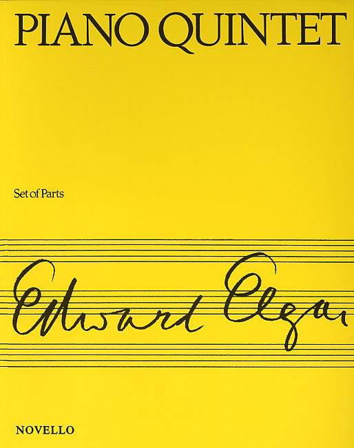 Edward Elgar: Piano Quintet Op.84: Piano Quintet: Instrumental Work