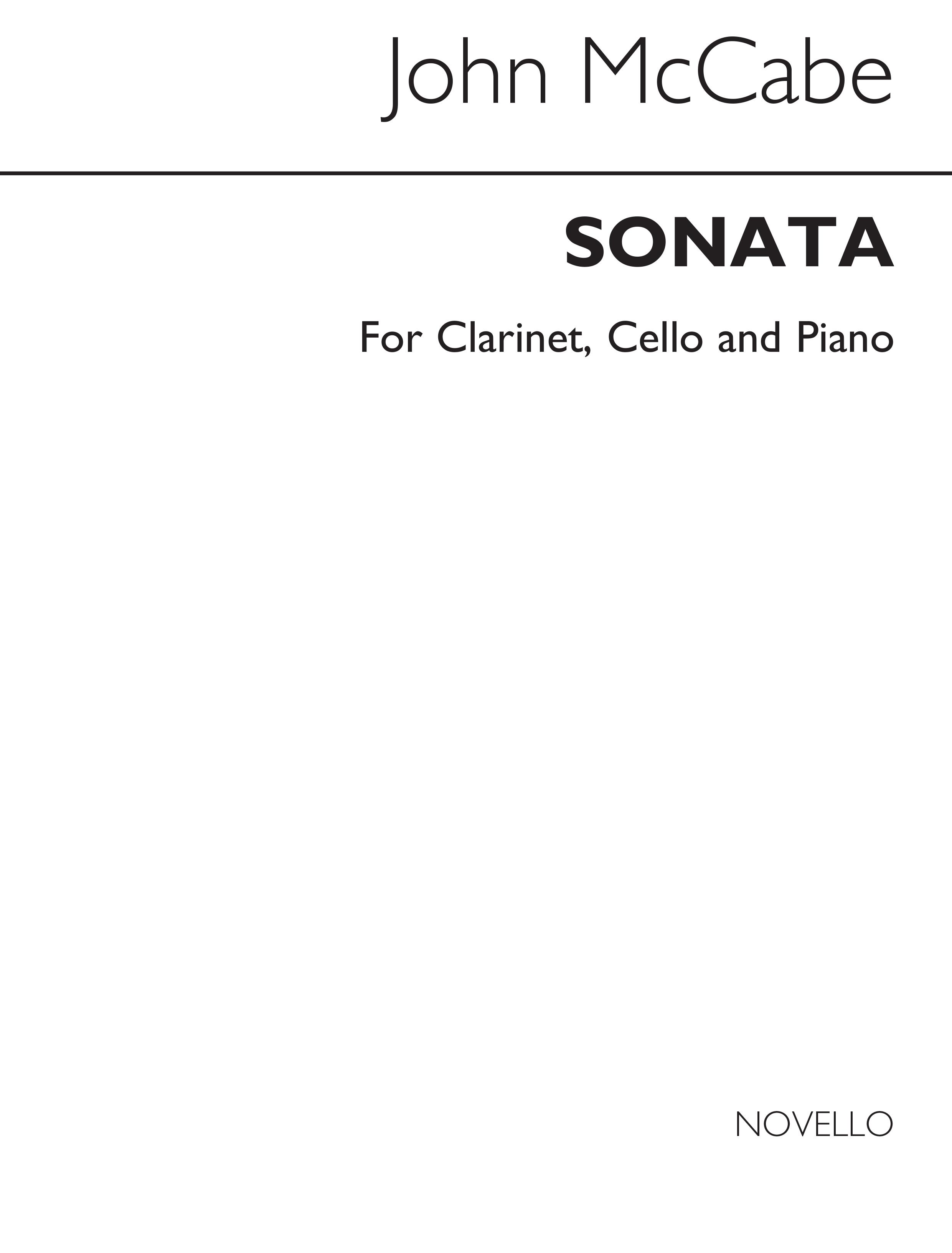 John McCabe: Sonata: Chamber Ensemble: Score