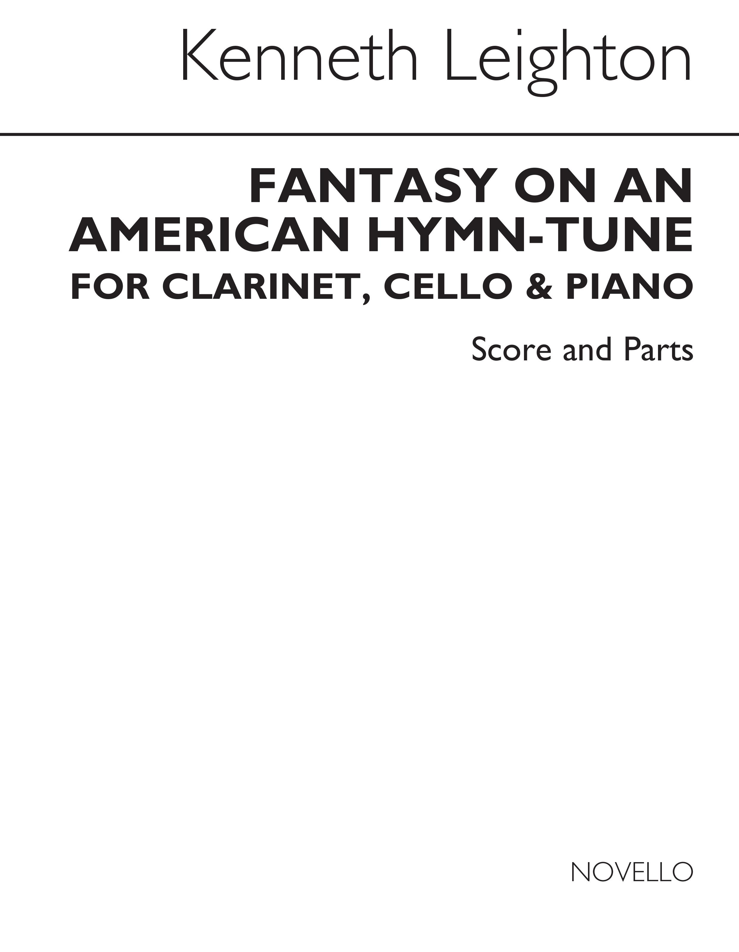 Kenneth Leighton: Fantasy On An American Hymn Tune Op.70: Chamber Ensemble: