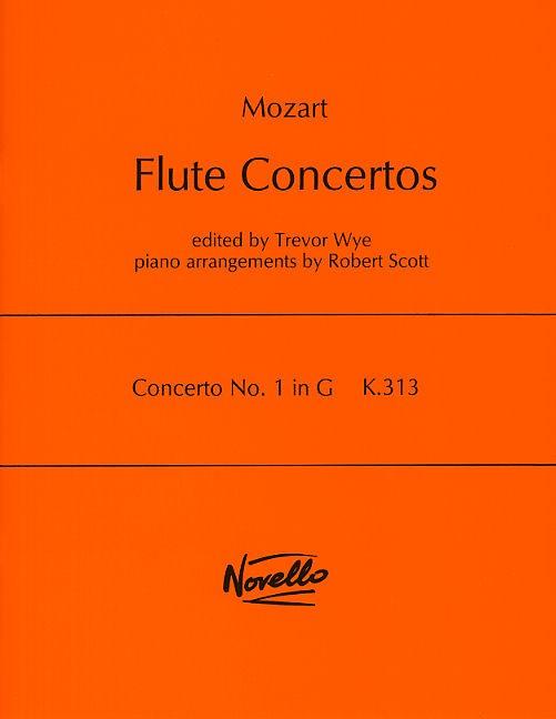 Wolfgang Amadeus Mozart: Concerto No.1 In G K.313: Flute: Instrumental Work